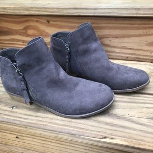 Dolce Vita Suede ankle Booties Nice!